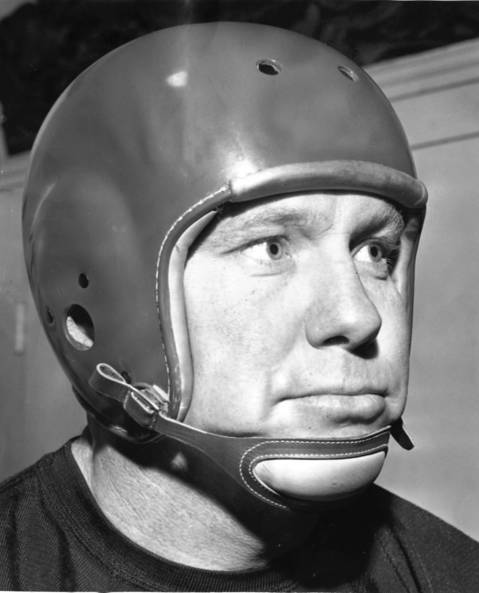 Clyde Turner was known as Bulldog. He played center and linebacker from 1940 to 1952 was a superb snapper, blocker and defender on four NFL championship teams. He was elected to the Hall of Fame in 1966.