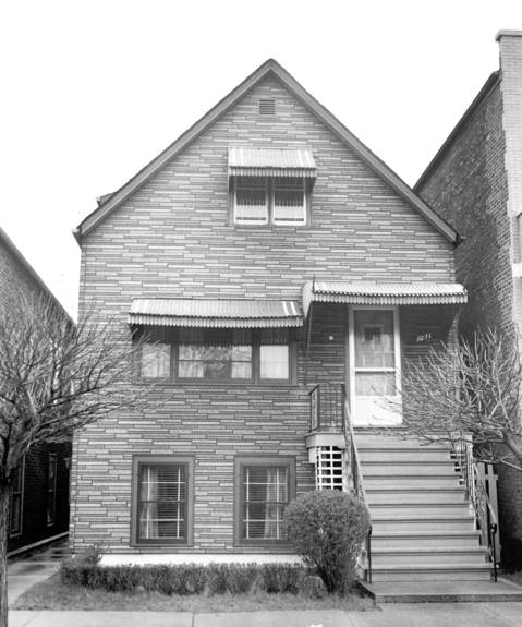 The home of Chester and Dora Fronczak at the time of the abduction.
