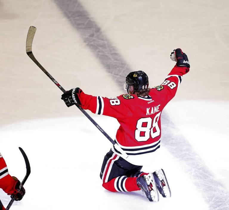 Patrick Kane Stanley Cup Celebration