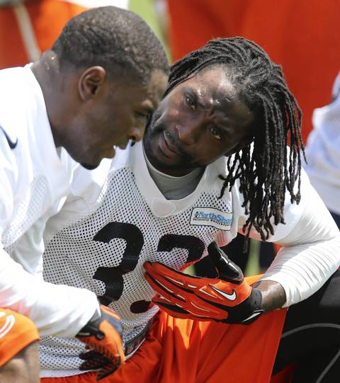 Cornerbacks Kelvin Hayden and Charles Tillman talk.