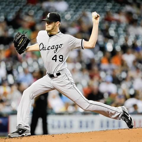 White Sox starter Chris Sale.