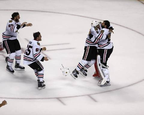 The Blackhawks are Stanley Cup champions.