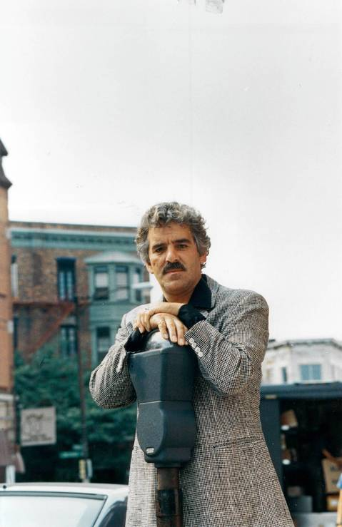 Dennis Farina on Sept. 2, 1988 at 2271 N. Lincoln Avenue in Chicago.