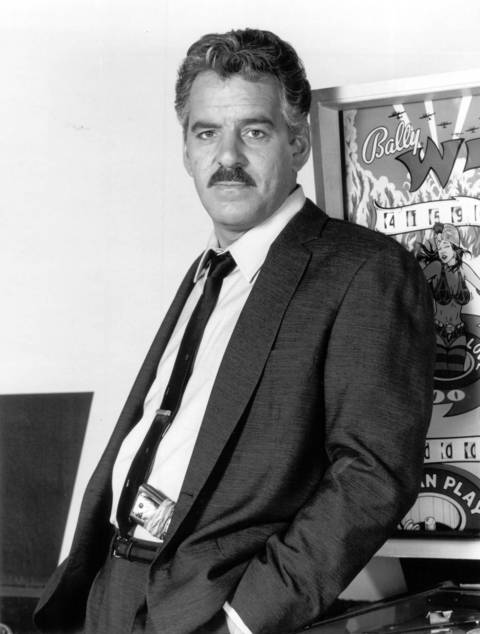 """Dennis Farina stars as Lt. Mike Torello, the head of a government strike force dedicated to fighting orgazined crime in """"Crime Story."""""""