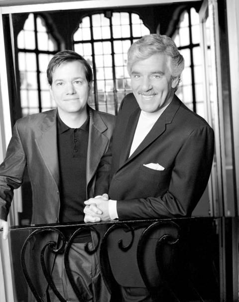"Frank Whaley (left, as Bob Jones) and Dennis Farina (right, as Buddy Faro) star on the CBS show ""Buddy Faro."""