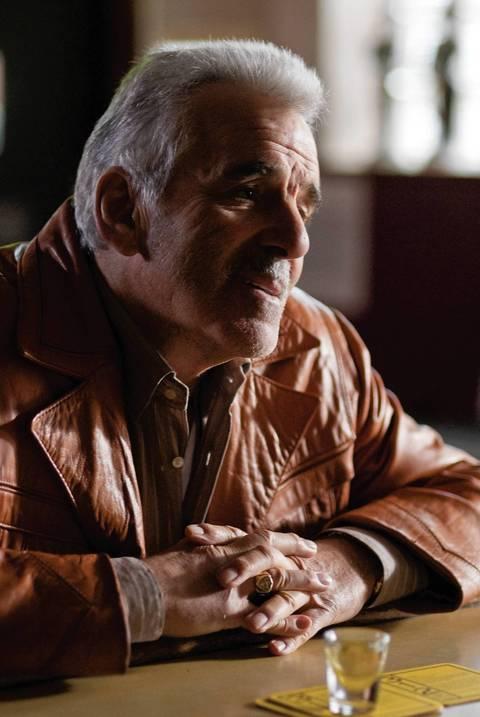"Dennis Farina in ""The Last Rites of Joe May."""