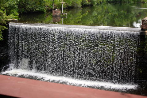 The Millwright's waterfall