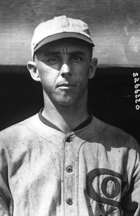 Chicago White Sox pitcher Claude 'Lefty' Williams from Sept. 22, 1919.