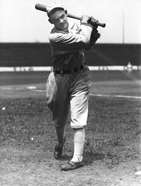Chicago White Sox first baseman Arnold 'Chick' Gandil circa 1918.