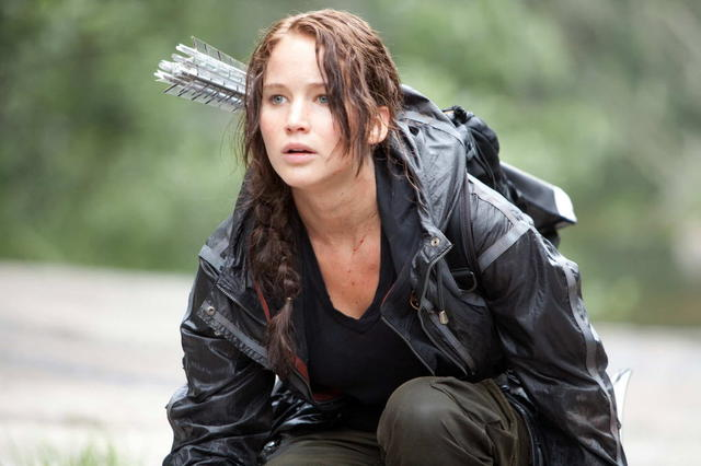 "Katniss, from ""The Hunger Games: Catching Fire"""
