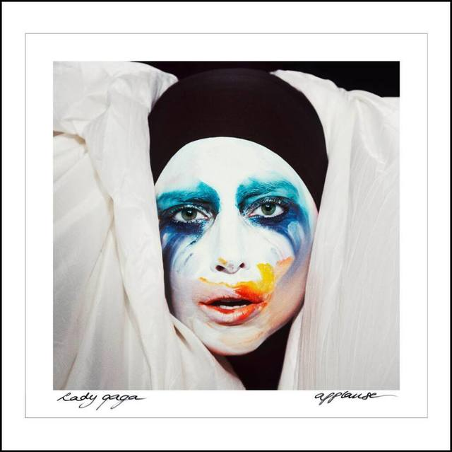 "Lady Gaga's new single is ""Applause."""