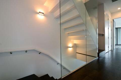 One of the stairwells.