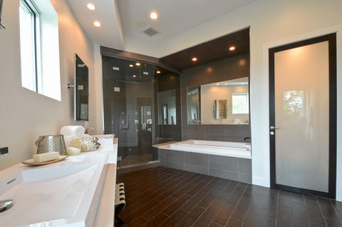 More of the master bath.