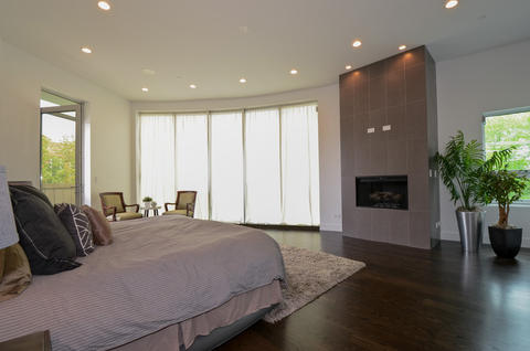 More of the master bedroom.