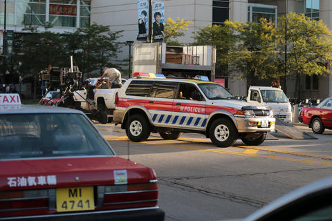 Chicago was made to look like China as crews prepared for filming scenes for Transformers 4 along East Cermak Road near McCormick Place in Chicago.