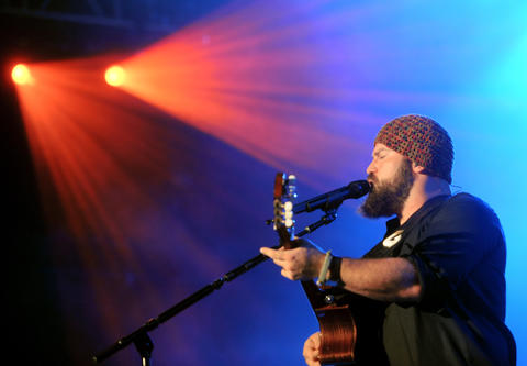 The Zac Brown Band performs at the Great Allentown Fair on Thursday.