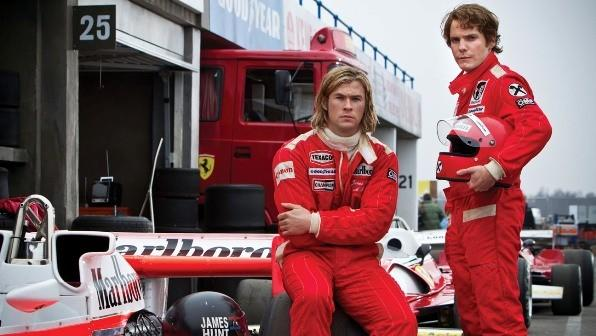 This movie opens right before Halloween, but it's already the talk of Hollywood. Chris Hemsworth and Daniel Bruhl star as the Formula One drivers in the movie directed by Ron Howard. Their racing suits are super-easy to replicate. Add a helmet, and you've got a topical, timely--and easy--costume.