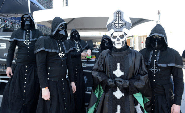 Don't miss: Ghost B.C. (Friday, 2:15 p.m., Bud Light): Swedish heavy metal band with a penchant for dressing in hooded liturgical garb while delivering old-school head-banging kicks.