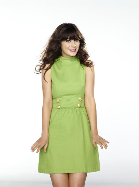 "Going as quirky Jess (Zooey Deschanel) from Fox's ""New Girl"" simply means you need to find a vintage frock and act like your about 15 years younger than you really are."