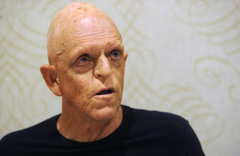 Actor, Michael Berryman, signs autographs at ParaFest 2013 held at the Sands Bethlehem Events Center. It will run from Friday, September 6 through Sunday, September 8, 2013.