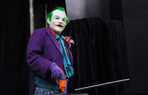 The Joker, from A Nightmare on Your Street, attends ParaFest 2013 held at the Sands Bethlehem Events Center. It will run from Friday, September 6 through Sunday, September 8, 2013.