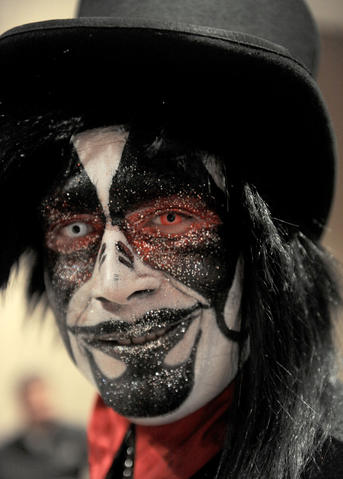 An actor from Mutated Soulz FX in Reading attends ParaFest 2013 held at the Sands Bethlehem Events Center. It will run from Friday, September 6 through Sunday, September 8, 2013.