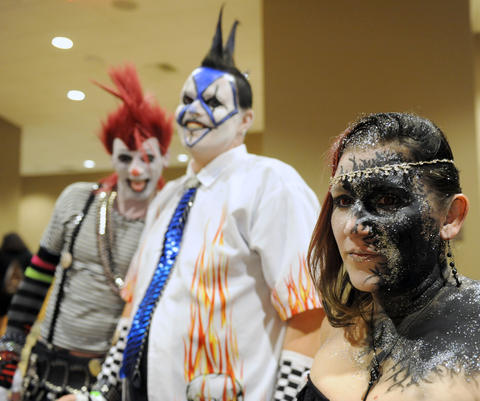 This group is from Mutated Soulz FX in Reading.  They attend ParaFest 2013 held at the Sands Bethlehem Events Center.  It will run from Friday, September 6 through Sunday, September 8, 2013.