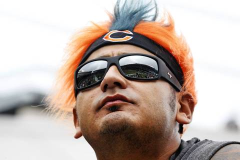 Joseph Vargas gears up for Chicago Bears home opener on Sept. 8.