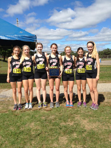 The EO Smith girls won the Varsity 2 race title Saturday at the Haddad Windham Invitational cross country meet.