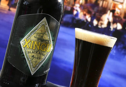 Cerveharias Kaiser Brewery Xingu Black Beer, featured in the new Brazil kiosk in the upcoming 2013 edition of the Epcot International Food & Wine Festival, which runs Sept. 27 through November 11. Photographed Friday, August 23, 2013, in an exclusive Orlando Sentinel behind-the-scenes preview. (Joe Burbank/Orlando Sentinel) B583075881Z.1