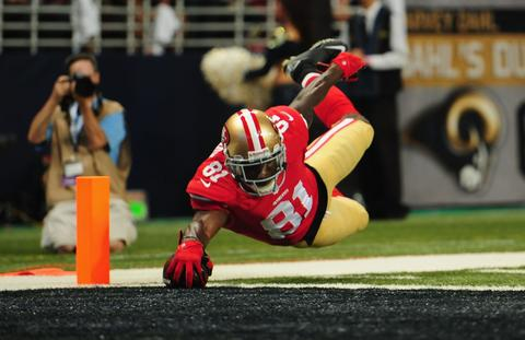 The Ravens sent WR Anquan Boldin to San Francisco for 1 2013 sixth-round pick.