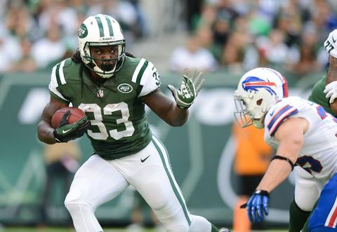 RB Chris Ivory went from New Orleans to the Jets for a 2013 fourth-round draft pick.