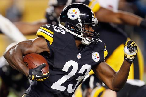 Philadelphia sent RB Felix Jones to Pittsburgh in exchange for LB Adrian Robinson.