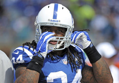 RB Trent Richardson was dealt from Cleveland to Indianapolis in exchange for a 2014 first-round pick.
