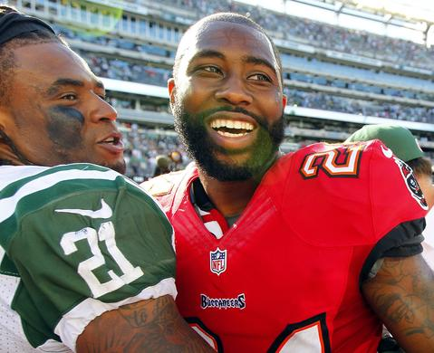CB Darrelle Revis went from the Jets to Tampa Bay in exchange for a 2013 first-round draft pick and a 2014 conditional draft pick.