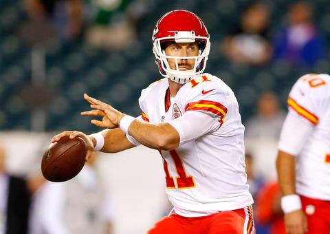 The Kansas City Chiefs got QB Alex Smith from San Francisco in exchange for a 2013 second-round draft pick and a 2014 conditional second-round draft pick.