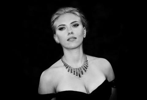 Scarlett Johansson attends the 'Under The Skin' premiere during the 70th Venice International Film Festival.