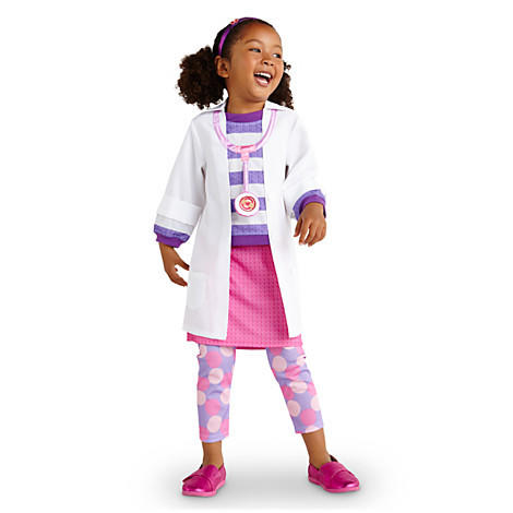 Disney Junior favorite Doc McStuffins is a hit costume for girls.