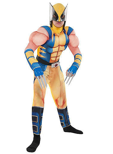 Wolverine is another popular superhero for boys this Halloween.