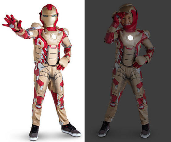 Iron Man 3 is one of many popular superhero costumes for boys this Halloween.