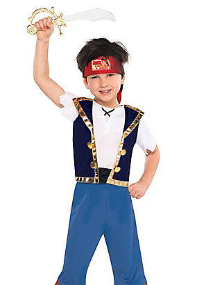 Characters from Jake and the Never Land Pirates are also a hit for boys this Halloween.