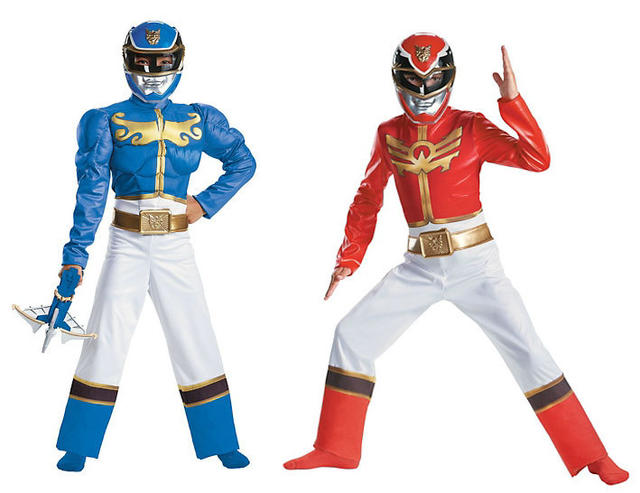Assemble the team! Power Rangers are popular for older boys.