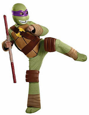 Teenage Mutant Ninja Turtles kick butt in the boy's costume category for toddlers.