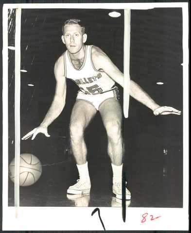 Don Kojis was a valuable reserve for the Bullets.