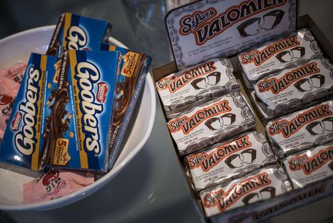 Candy from the 1960s is seen for sale at the gift shop of the Sixth Floor Museum October 9, 2013 in Dallas, Texas. The Sixth Floor Museum is dedicated to the history behind the assassination of US President John F. Kennedy. November 22 will mark the 50th anniversary of the assassination of JFK in Dallas's Dealey Plaza.
