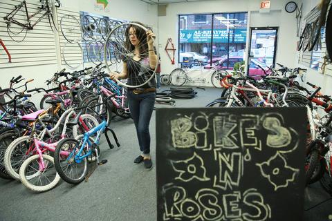 Bikes N Roses Bikes N Roses participants at