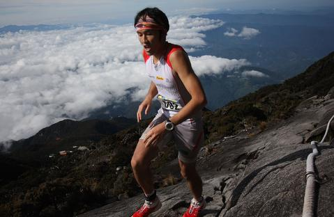 A participant runs through the grueling course during the 2013 Mount Kinabalu Climbathon on October 19, 2013 in Kundasang, Sabah, Malaysia. The Climbathon, which first started in 1987, has now gained the International Skyrunning Federation accreditation that draws top international runners from various countries who race to gather points with the aim of becoming the series world champion.