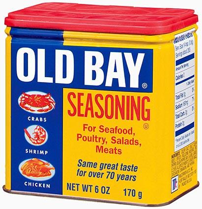 Feeling crabby? A container of Old Bay can be created from a refurbished cardboard box (dishwasher- or refrigerator-sized). Invest in plenty of cans of yellow spray paint, and grab a couple of red and blue ones while you're at it.