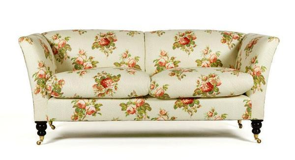 Picture the rose print and brass castors in a sleek white contemporary room, and suddenly the granny style has a completely different effect. The sofa is one of several high-end George Smith sofas poised to be steals in the Oprah auction.Estimated to sell for: $600 to $800Current high bid: $500