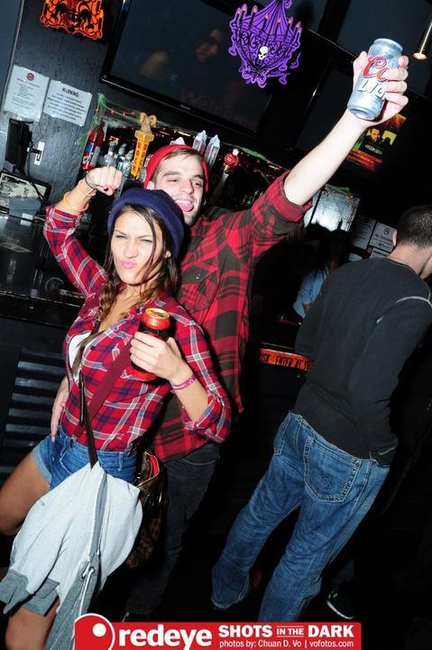 Shots in The Dark @ Joe's Bar on Halloween Night